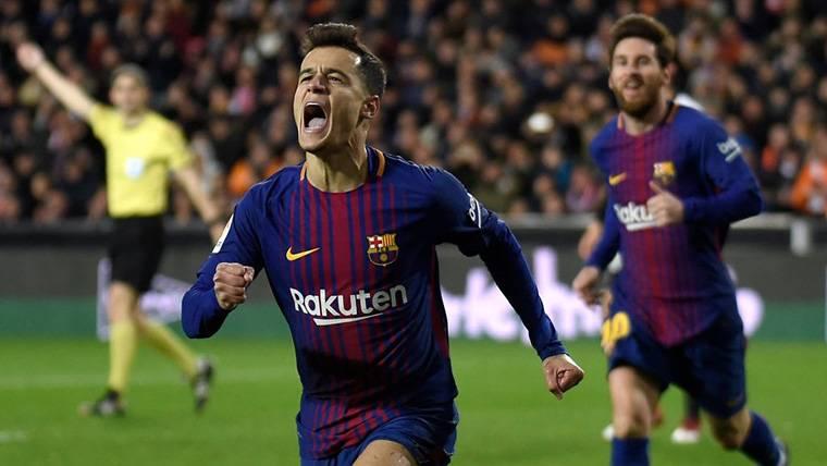Coutinho empieza como acabó: marcando golazos con el Barça