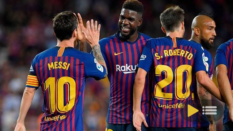 Vídeo resumen: FC Barcelona 3 Deportivo Alavés 0 (LaLiga J1)