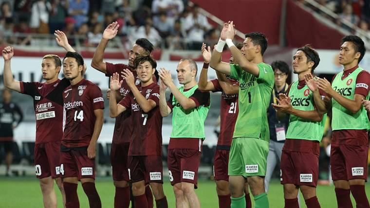 El Vissel Kobe de Andrés Iniesta vuelve a ganar y se acerca a la Champions asiática