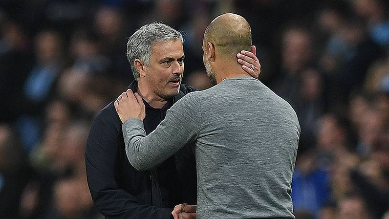 Dura respuesta de Guardiola a Mourinho por su 'rajada'