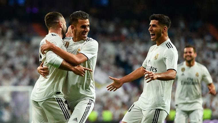 El Madrid se estrena con victoria ante el Getafe en Liga (2-0)