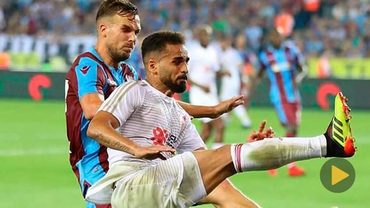 ¡Douglas marca un golazo con el Sivasspor en la liga de Turquía!