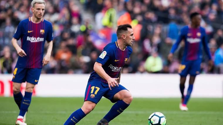 El Dortmund, en Barcelona para negociar por Paco Alcácer