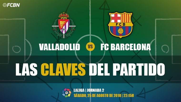 Las claves del Valladolid-Barcelona