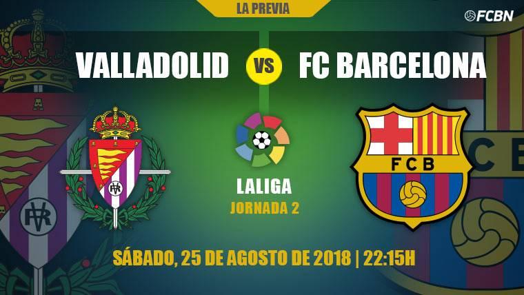 El Barça se estrena fuera de casa ante un peligroso Valladolid