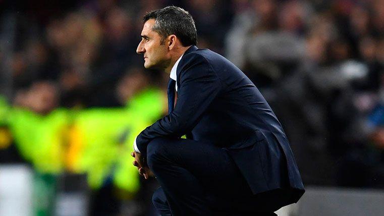 Valverde hace una declaración de intenciones con su alineación