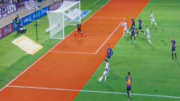 ¡Bendito VAR! El gol bien anulado a Keko dio los 3 puntos al Barça