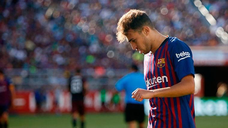 La postura del FC Barcelona con el futuro de Munir El Haddadi