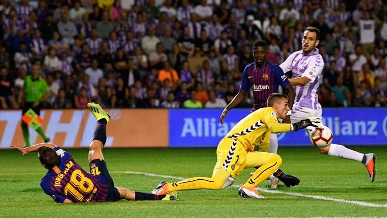 Masip revela su conversación con Gerard Piqué y Sergio Busquets tras el Valladolid-Barça