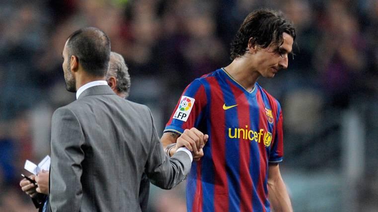 Nuevo ataque de Zlatan Ibrahimovic contra Pep Guardiola