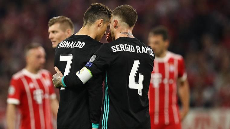 Durísimo 'dardo' velado de Sergio Ramos a Cristiano Ronaldo