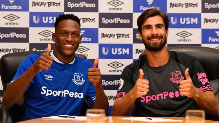 Mal negocio para el Everton: Sus fichajes del FC Barcelona no juegan