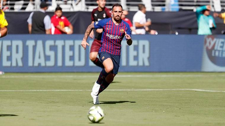 OFICIAL: El Barça anuncia la cesión de Paco Alcácer al Dortmund