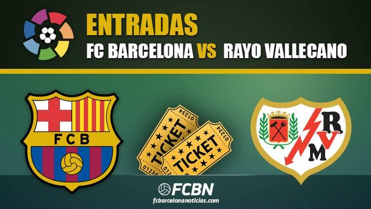 Entradas FC Barcelona vs Rayo Vallecano - LaLiga Santander 2018-2019