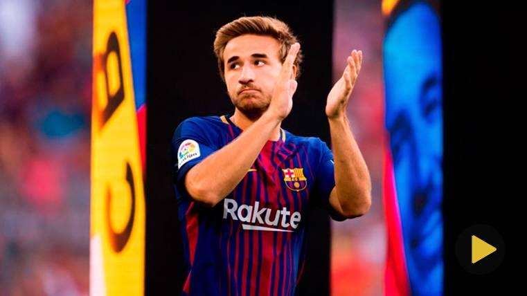 El mensaje de Sergi Samper tras su 'fichaje' por el primer equipo del Barça
