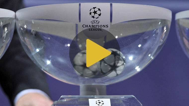 EN DIRECTO: Sigue el sorteo de los octavos de la Champions League