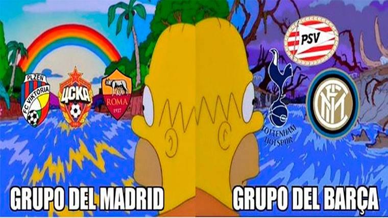 Estos son los mejores 'memes' del sorteo de Champions League