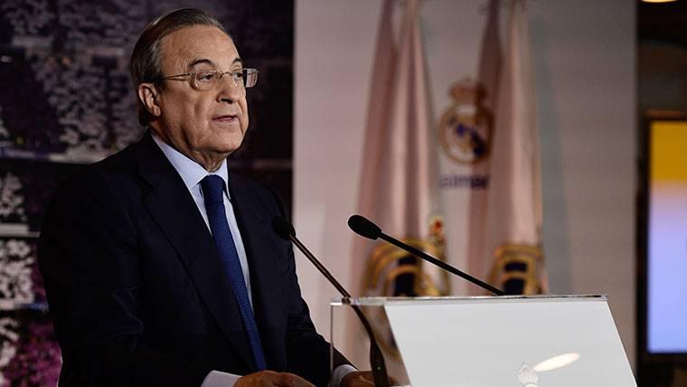 Florentino Pérez ataca al Inter de Milán por el 'caso Modric'