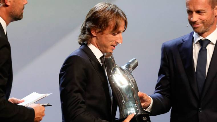Luka Modric, ¿principal aspirante al 'The Best' y el Balón de Oro?