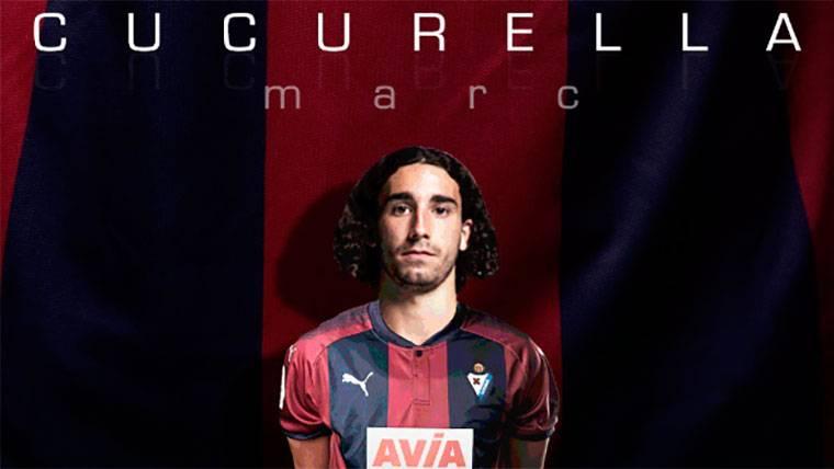 OFICIAL: El FC Barcelona cierra la cesión de Marc Cucurella al Eibar