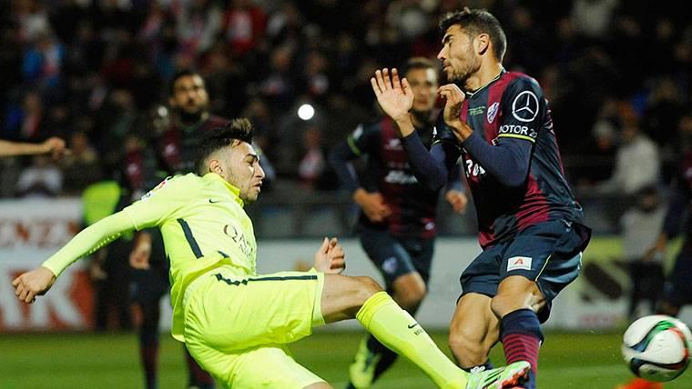 El Huesca, un equipo peligroso en el Camp Nou antes del parón