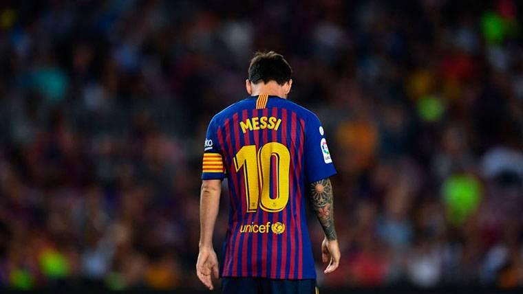 Leo Messi cumple una década con el dorsal '10' en su espalda