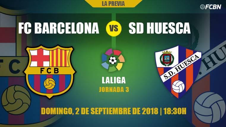 El Barça busca mejorar sus sensaciones contra un Huesca atrevido