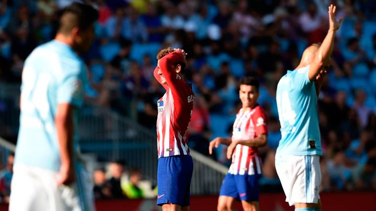 El Celta de Vigo sigue alejando al Atlético de Madrid de LaLiga (2-0)