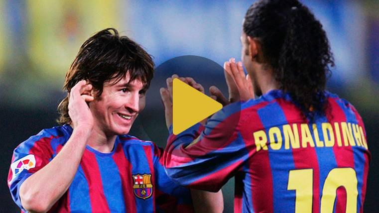 Ronaldinho da la receta para que el FC Barcelona 2018-19 sea campeón