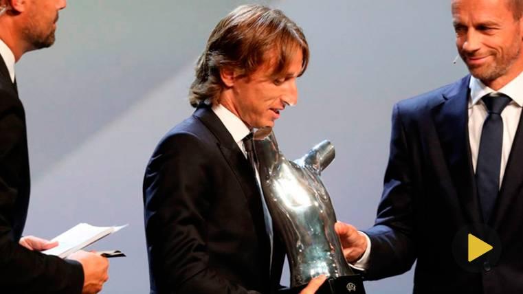 Cristiano Ronaldo, Luka Modric y Mohamed Salah, candidatos al premio 'The Best' de la FIFA