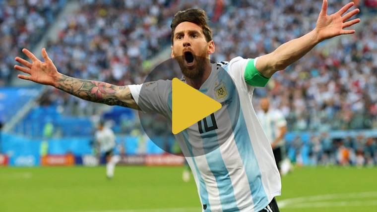 Leo Messi quiere el Puskas, el premio que nunca ha ganado