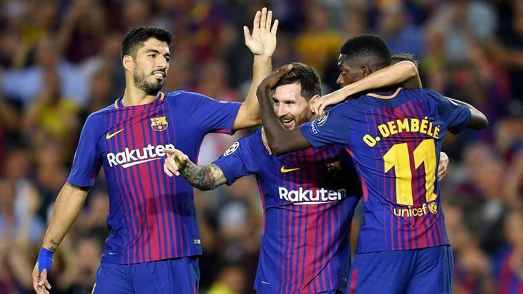 Messi-Suárez-Dembélé: El trío del FC Barcelona asusta a Europa