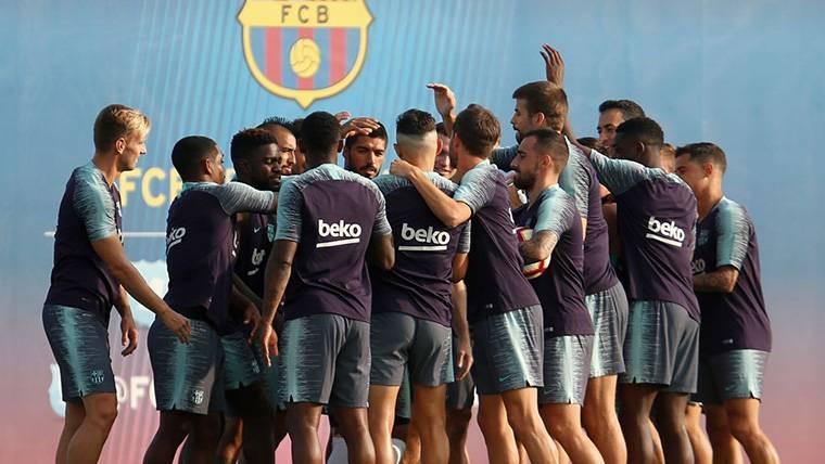 Convocatoria de 32 jugadores del FC Barcelona para la Champions League 2018-19