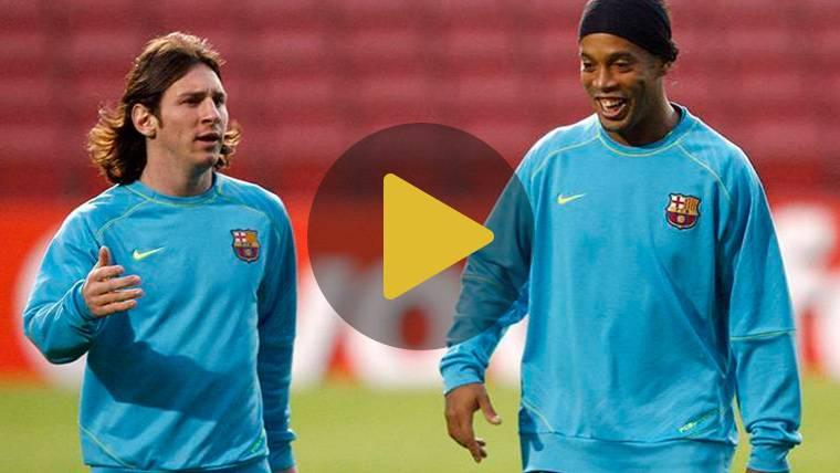 Ronaldinho habría querido jugar en el Barça de Pep Guardiola