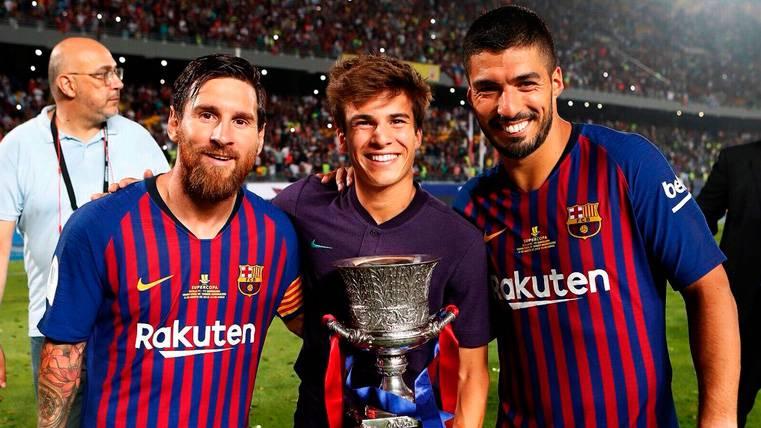 Leo Messi elogia a Riqui Puig y marca al Barça el camino de la Masia