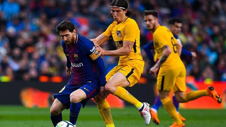 """Filipe Luis, sobre el The Best: """"El mejor del mundo es Messi"""""""