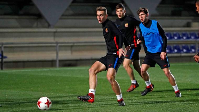 Los dos canteranos que Valverde seleccionó para el primer equipo coincidirán en el filial