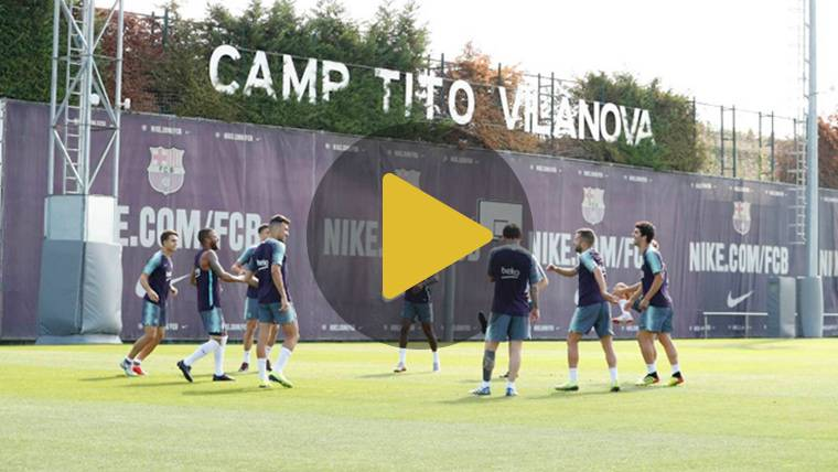 La promesa del Barcelona de Valverde regresa a los entrenos