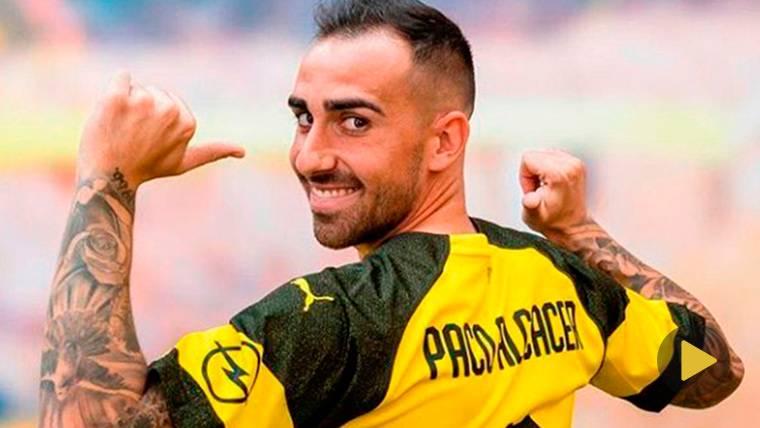 Alcácer empieza a ganarse a la afición del Borussia Dortmund