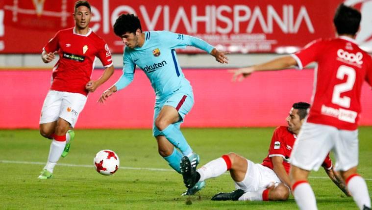 Carles Aleñá recibe el alta y jugará su primer partido después de tres meses