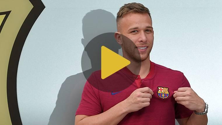 Arthur elige a sus leyendas favoritas y destaca a tres históricos del FC Barcelona