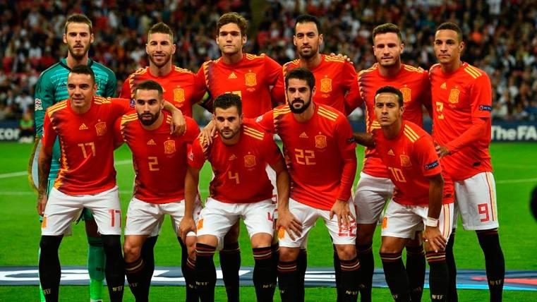 El once de Luis Enrique: Un centro del campo con estilo Barça