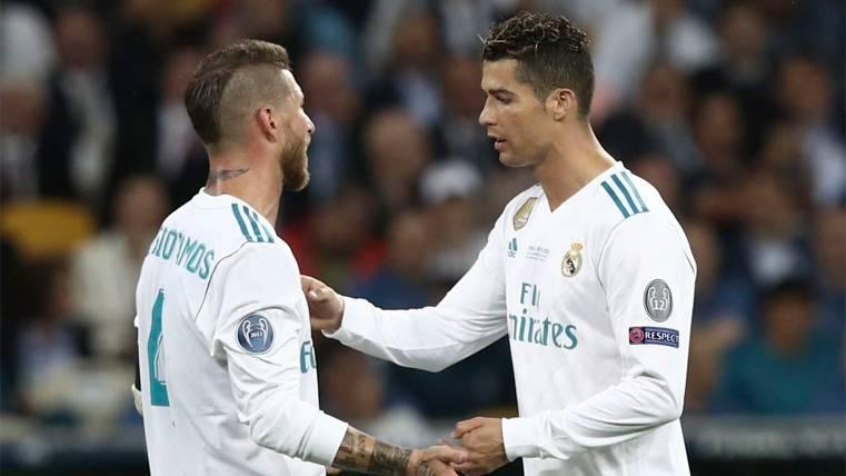 La guerra continúa: Sergio Ramos vuelve a 'disparar' contra Cristiano Ronaldo
