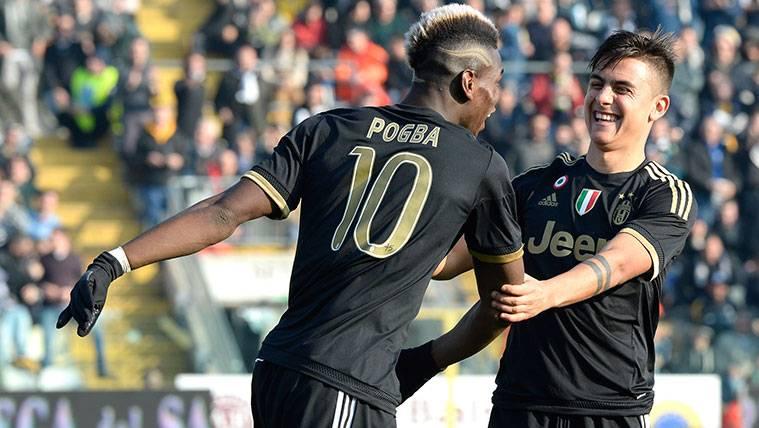 La cumbre entre Juventus y Mino Raiola hace sospechar al Barça