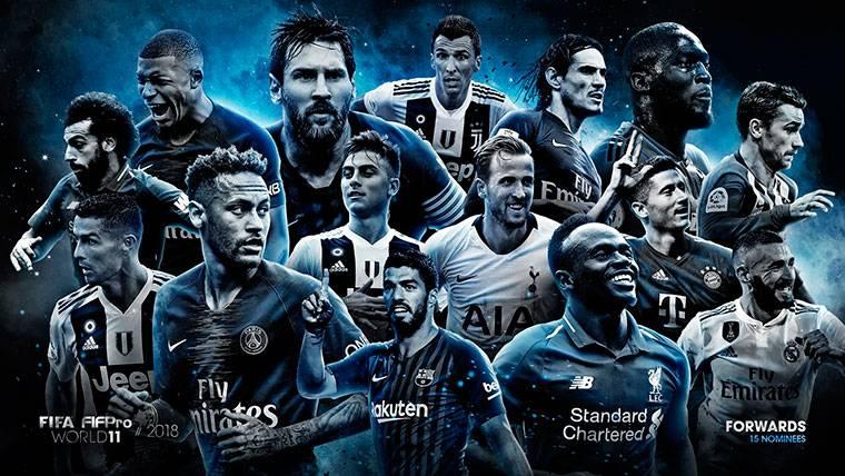 10 jugadores del FC Barcelona aspiran a los premios FIFPro