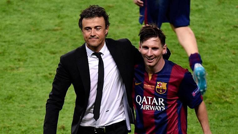 Luis Enrique responde sobre Leo Messi cuando le preguntan por Modric