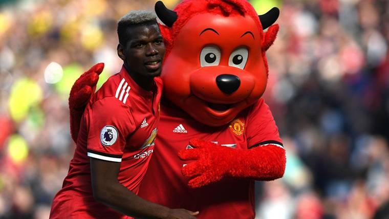 El Manchester United ya tiene relevo de Pogba si se va al Barça