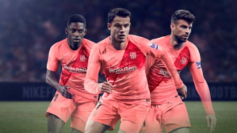 El Barça estrenará la tercera equipación en el campo del Inter