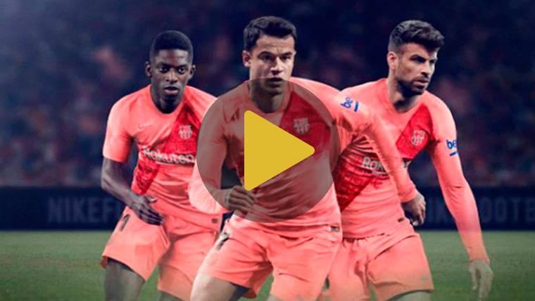 OFICIAL: El FC Barcelona 2018-19 filtra su innovadora tercera equipación