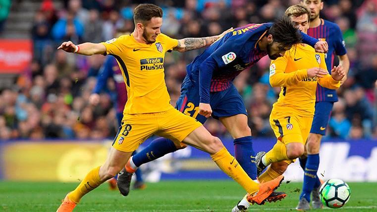 Saúl, pretendido por el Barça